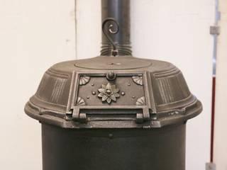 Zylinderofen Klus Nr. 1680 komplett restauriert und zertifiziert Industrialer Wintergarten von Perler Ofen GmbH Industrial