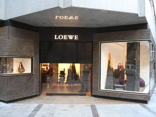 Fassadenverkleidung, Bronze und Harz, ornamentale Elemente Moderne Geschäftsräume & Stores von Capa Escultura Modern