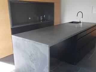 Plurirochas Lda. Built-in kitchens Stone Black