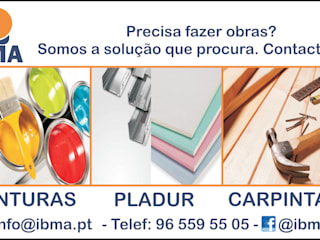 Serviços Paredes e pisos clássicos por IBMA - DISTRIBUIÇÃO E SERVIÇOS, LDA Clássico Betão