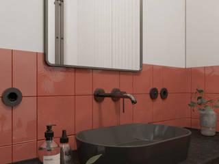 łazienka z pazurem Sadowska-interiors Nowoczesna łazienka
