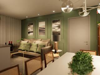 Revisite Ruang Keluarga Klasik Green