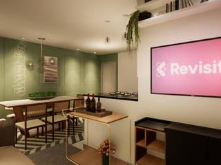 Sala de estar/jantar alugada Revisite Adegas clássicas Verde