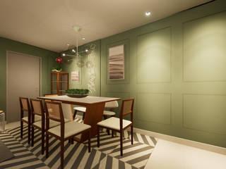 Revisite Ruang Makan Klasik Green