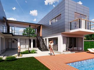 Casa en Castelar de GB RENDERS Moderno