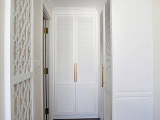 Căn hộ Vista Verde - Quận 2 (bàn giao chìa khoá trao tay) CÔNG TY TNHH TRƯỜNG THẮNG Phòng ngủ phong cách kinh điển Gỗ White