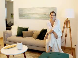 HOMELIFE Infinita Estudio Salas / recibidores Verde