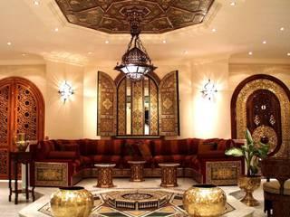 التصميم الداخلى لمجالس عربية مودرن - نسائي ورجالي من ArchiSton كلاسيكي