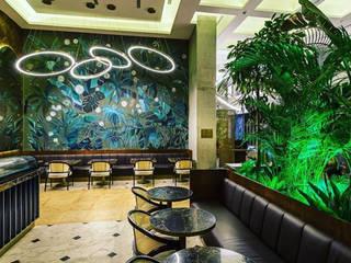Maslak 1453 Restaurant project Modern Oturma Odası Tam İç Mimarlık Modern