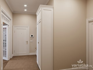 Classic style corridor, hallway and stairs by variatika Classic