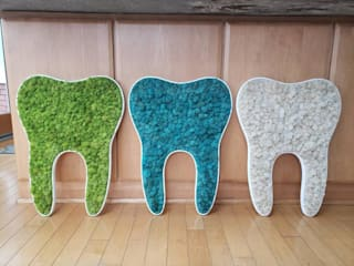 Dikey Bahçe & Yosun Duvar - Art Wall Moss – Yosun Logo ve İkonlar: minimalist tarz , Minimalist