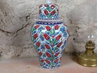 Pot en céramique grande taille Lalé par KaravaneSerail KaravaneSerail MaisonAccessoires & décoration Céramique