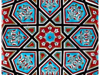 Carreaux en faïence d'Iznik par KaravaneSerail KaravaneSerail MaisonAccessoires & décoration Céramique Multicolore