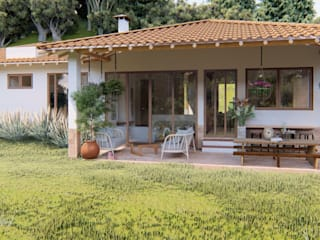 Country style house by DiseñoACO Country