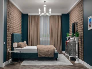 Альберт Забаров Dormitorios de estilo moderno