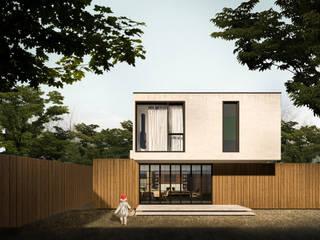 Scandinavian style houses by Diego Viana - Floc.o Design Inteligente Scandinavian