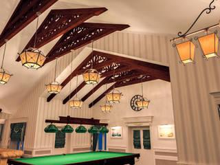 Альберт Забаров Colonial style living room
