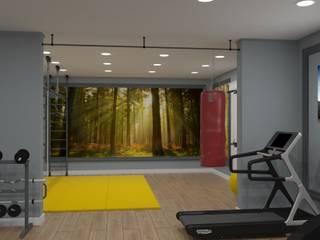 Альберт Забаров Industrial style gym