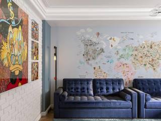 Альберт Забаров Dormitorios infantiles de estilo moderno