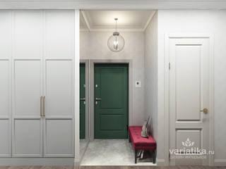 variatika 隨意取材風玄關、階梯與走廊