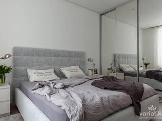 Дизайн квартиры в ЖК Невский - 72,5 м² variatika