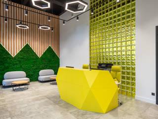 Офис MANGO Telecom Офисные помещения в стиле модерн от MEMarch Модерн