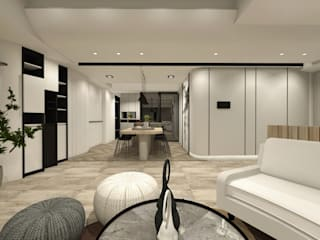 白之境 根據 葳夏室內設計 隨意取材風