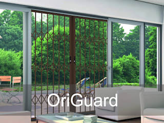 Practical & User-Friendly Retractable Security Gates For Your Home by Origin Aluminium Group Holdings (Pty) Ltd Modern