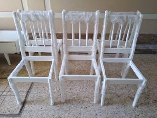 Juego de comedor totalmente renovado,mesa estilo ingles de ANADECO - Decoradora y Diseñadora de Interiores - La Plata Clásico