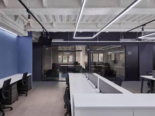 桃園辦公室 城隅設計 辦公室&店面 Blue