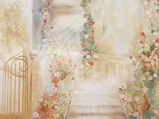 Настенная роспись Гостиная в классическом стиле от Интерьерный художник Классический