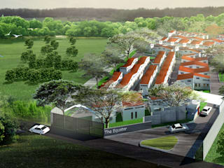 The Equator Residential for Low Rate Income People Accento Studio