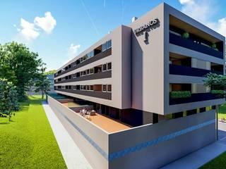 Prédio_Santa Maria da Feira 3D por MG-Arquitetura