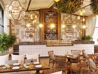Summer terrace, grill cafe от ENVISO Эклектичный