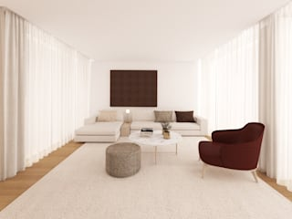 MIA arquitetos Living room