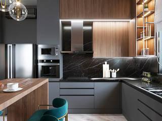 Modern kitchen by Студия дизайна Натали Modern