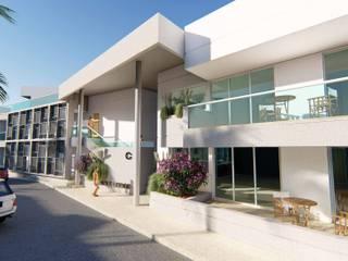 Suites Lodge Aruba de Skla Urbana Moderno