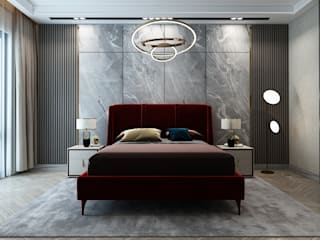 Modern style bedroom by Inan AYDOGAN /IA Interior Design Office Modern