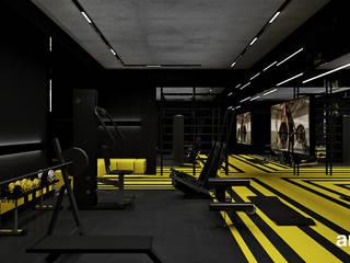 Moderne fitnessruimtes van ARTDESIGN architektura wnętrz Modern