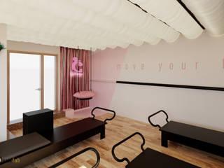 Diseño de interiores centro de pilates the class Ideaszfab Espacios comerciales