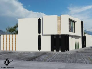 CAPULA Casas minimalistas de Dehonor Arquitectos Minimalista