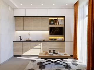 Industrial style kitchen by студия дизайна Industrial