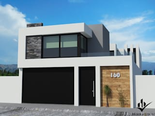 TORREMOLINOS Casas modernas de Dehonor Arquitectos Moderno