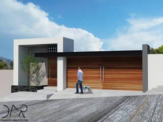 JARDIN DE EVENTOS Casas modernas de Dehonor Arquitectos Moderno