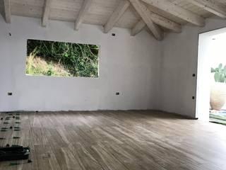 BROCCA MARCO PIASTRELLISTA Pisos Cerámico Acabado en madera
