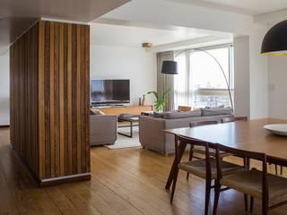 Obra GTM Livings modernos: Ideas, imágenes y decoración de LOB arquitectura Moderno