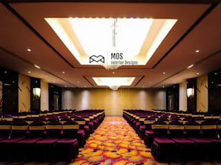 Interior Design and decoration for Banquet by MOS DESIGNS