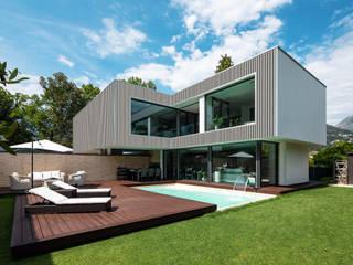 Bardages en bois composite Sylneo Maison passive