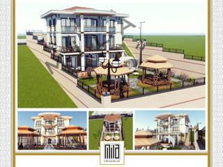 DRAGOS VİLLALARI Modern Evler Mila Mimarlık & İnşaat Modern