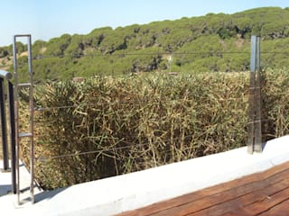 Jardín J&E Arantxa Mogilnicki Arquitectura i Paisatge Jardines delanteros Piedra Verde